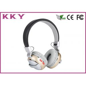 China Rechargeable Bluetooth Music Headphones Supports High Definition Voice Communication  on sale