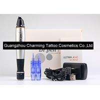 Black And Silver Dr Pen Auto Microneedle System Machine Electric Vibrating Pen