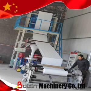 China High Speed Automatic Plastic Blow Film Machine with Rotary Head on sale