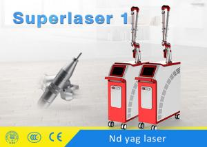 China Q Switched Nd Yag Laser For Pigmentation Tattoo Removal 1064nm / 532nm on sale
