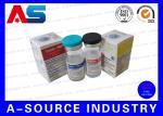 Caixas do tubo de ensaio do armazenamento 10ml do cartão para as garrafas de vidro da medicina do holograma, ISO9001