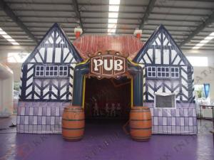 China Portable Cocktail Inflatable Pub ireland party marquee for Advertising on sale