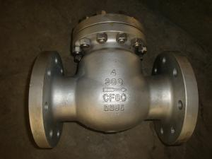 China High temperature DN50 - DN1200, Class 150LB - 2500LB Swing API 6D Check Valve on sale