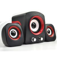 Stronger and Powerful 2.1 computer system speaker 2.1 USB aduio Speakers with Elastic Diaphragm