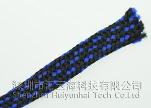 China PC Power Supply Cable Sleeving , Cotton Braided Cable Sleeving For USB Cable on sale