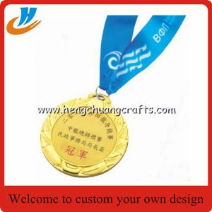 China China stock metal blank medals, gold silver bronze blank race medals cheap custom on sale
