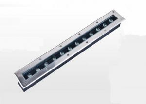 China Linear Recessed Floor Led Lights , 12w Led In Ground Well Lights For Gas Station on sale