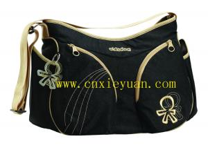 China Multifunctional fashion mother baby bag diaper bag on sale