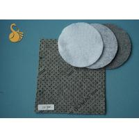 Dawn Blue 600GSM + 25GSM PP Flower Dots Nonwoven Polyester Felt Material