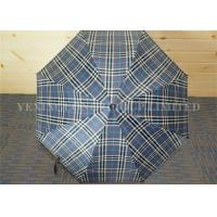 England Stylish Luxury Curved Handle Umbrella For Women Black Coated Metal Shaft