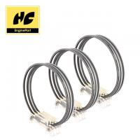 Accurate Standard Piston Rings , Korea Diesel Engine Components High Precision