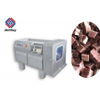 China Hygienic Commercial Frozen Meat Processing Machine / Meat Dicer Machine on sale