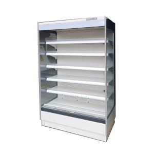 China Supermarket Open Display Chiller Open Upright Display Fridge Automatic Defrost on sale