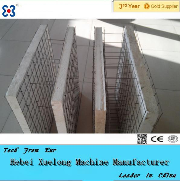 Eps 3d Panel : Eps steel wire d wall panel machine double