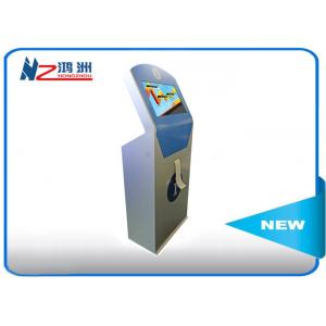 China Android Display Interactive Self Serving Kiosk Stand Alone With Printer on sale
