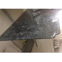 Precision Prefab Kitchen Countertops Natural Volgua Blue Granite Slab