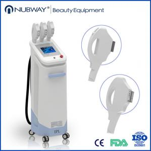 China Professional Beauty Salon Equipment 3 handles IPL Xenon Lamp hair remvoal machine price on sale