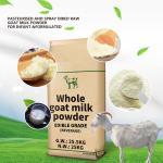 Delicious And Creamy Dry Goat Milk Powder  Sterilized In Bulk Sales Repairs Body Cells