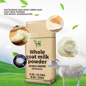 China A2 Protein Drinking Food Edible Raw Goat Milk Powder on sale