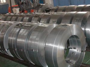 China Slit Hot Rolled Steel Strips SS400 , Hot Dipped Galvanized Steel Coils on sale