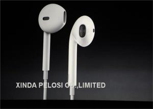 China Professional Iphone Earphone With Mic Volume Control  Noise Cancelling on sale