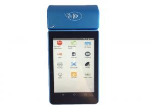 China Smart Handheld Android Based Pos Terminal For Restaurant / Bank Payment on sale