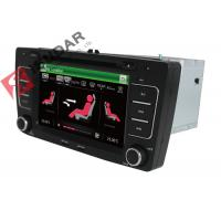 China SKODA Octavia VW Car DVD Player 7 Inch 2 Din Gps Bluetooth Car Stereo With Hand Brake Control on sale