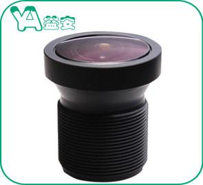 China 1.4mm Focal Length Aerial Camera Lens 190° Wide Angle For Vehicle Security Camera on sale