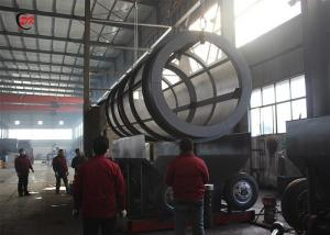 China 2m Diameter Shaftless Trommel Screen Machine For Municipal Solid Waste on sale