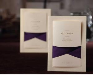 luxury paper wedding and business invitation cards designs with