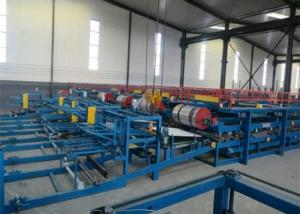 China Automatic EPS Sandwich Panel Roll Forming Machine With PLC Control System on sale