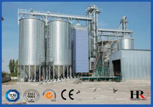 China Galvanized Corrugated Bolted Assembly Steel Silo Machine , Grain Storage Silo Bin on sale