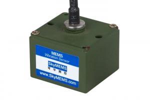 China Light Weight 3 Axis Vibration Sensor , High Frequency Vibration Sensor on sale
