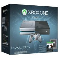 NEW Microsoft Xbox One 1TB Limited Edition Console Controller Halo 5 Guardians Bundle