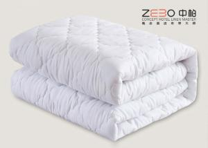 China Simple Design Hotel Mattress Protector Cover OEM / ODM Available 200GSM on sale