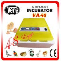 2014 Newest style full automatic mini chicken egg incubator plant incubator VA-48(12v) for sale