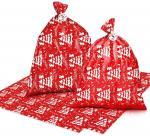 "Amazon Hot Sell Merry Christmas Large Plastic Gift Sack , 36""×44"" Plastic Christmas Gift Sacks"