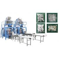 China Small Hardware / Pipe Fittings Multihead Weigher Packing Machine With Mild / Stainless Steel Body on sale