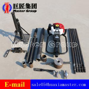 China Mobile Drilling Rig for Soil Sampling/Drill Machine for Geological Prospecting QTZ-1 on sale
