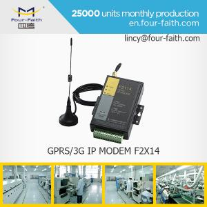 China F2114 GPRS sim card MODEM with serial port support RS232/485 for meter monitoring on sale