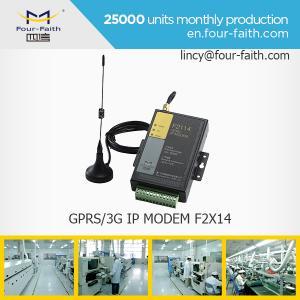 China Carte MODEM de sim de F2414 3G avec le soutien RS232/485 de porte série de la surveillance de mètre on sale