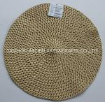 Placemats de papel tejidos de estera de tabla de papel