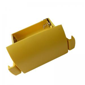 China Yellow Plastic Battery Holder For Leica Sprinter 250m 200m 150m Electronic Level on sale