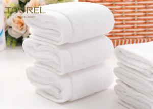 China Economic And Reliable Hotel Face Towel , Egyptian Cotton Washcloths on sale