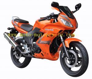 Honda Golden Eagle Orange 150cc Sports Car Drag Racing Motorcycle