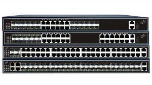 China Commutateur 12*10/100/1000Base-T, 12 GE combiné, 2*10GE fente, 1+1 d'agrégation d'Ethernet de cheminement de sécurité d'OPTOSTAR 10GE on sale