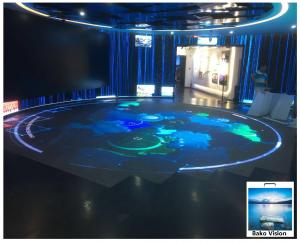 China Waterproof Outdoor Rental Led Display Screen P3.91 Full Color For Wedding Floor on sale
