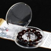 China Round Shape Transparent Jewellery Display Acrylic Box Products on sale