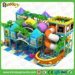 Équipement d'intérieur de terrain de jeu de divertissement coloré, playland d'intérieur mou de terrain de jeu d'enfants pour des enfants
