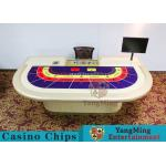 China Entertainment Poker Game Table Luxury 9 Players wholesale